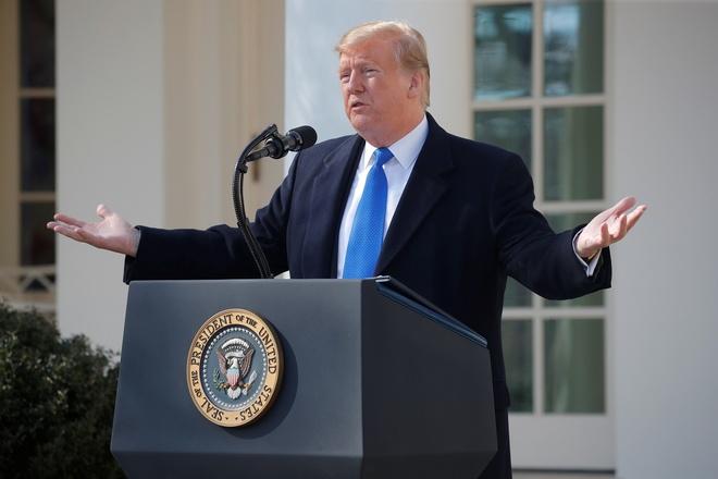 TT Trump hy vong 'may man' trong cuoc gap Kim Jong Un o Ha Noi hinh anh
