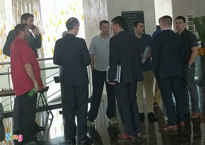 Mat vu My toi kiem tra khach san Marriott truoc hoi nghi Trump - Kim hinh anh 1