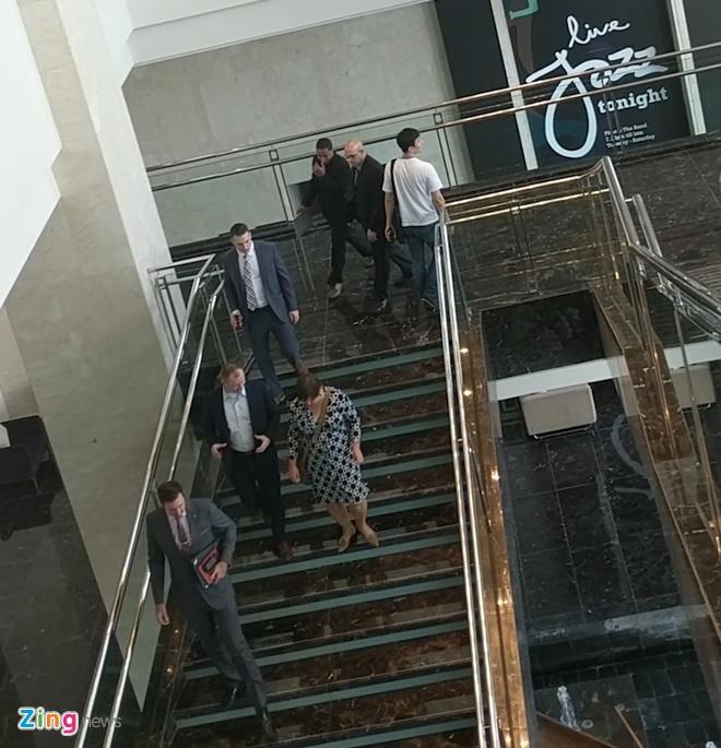 Mat vu My toi kiem tra khach san Marriott truoc hoi nghi Trump - Kim hinh anh 2