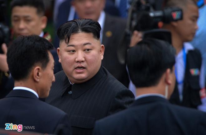 Kim Jong Un tham Nga anh 1
