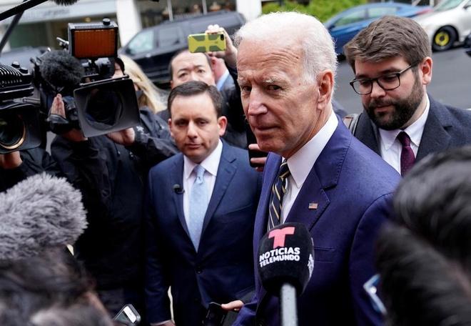Cuu pho tong thong My Joe Biden tuyen bo tranh cu nam 2020 hinh anh 1