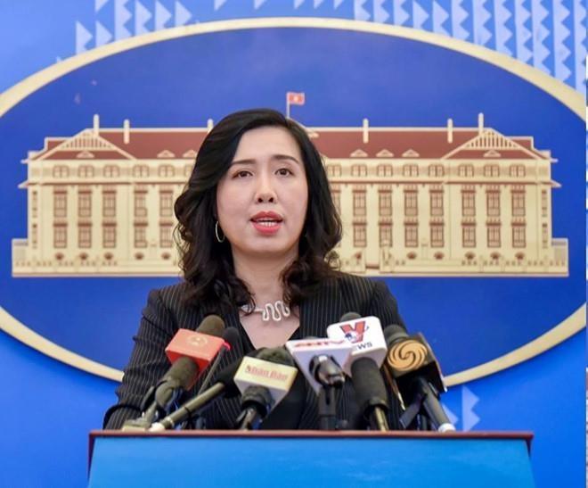 Viet Nam len tieng ve tau TQ cao ngheu pha hoai moi truong o Bien Dong hinh anh 1