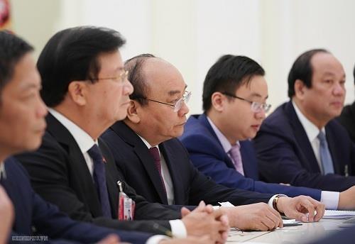 Thu tuong Nguyen Xuan Phuc tham Nga anh 2