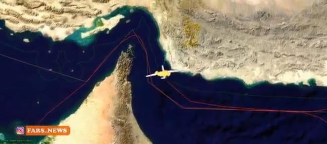 My, Iran tung ban do trai nguoc ve vi tri may bay trung ten lua hinh anh 1