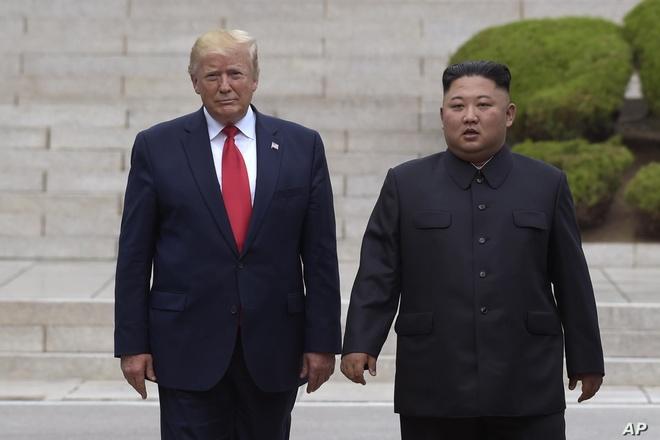 Trump coi nhe Trieu Tien thu ten lua anh 1