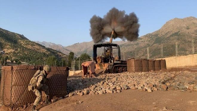 Tho Nhi Ky tan cong vao Iraq de truy quet luc luong PKK hinh anh 1