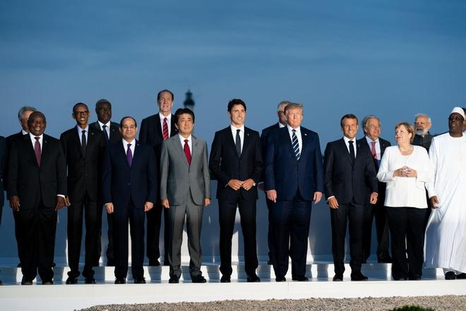 trump muon dua Nga tro lai G7 anh 1