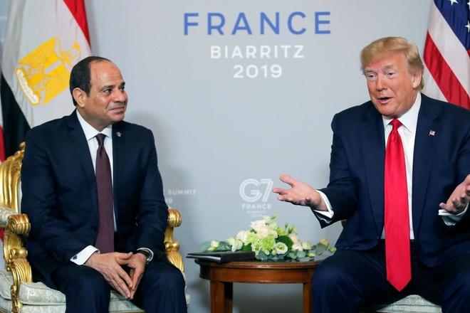 Ong Trump goi TT Ai Cap la 'nha doc tai ua thich cua toi' hinh anh 1