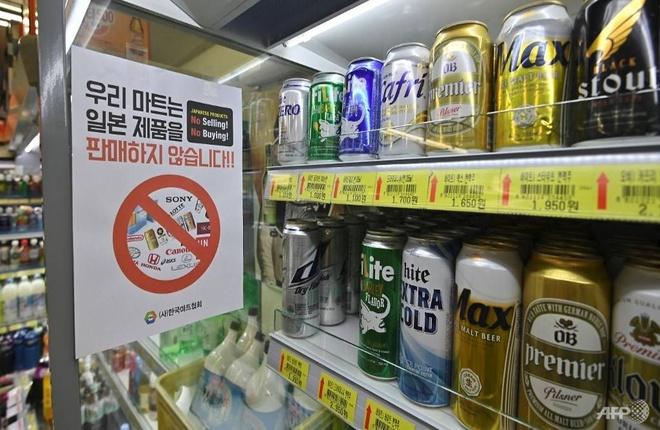 Bia Nhật nhập vào Hàn Quốc giảm tới 97% vì thương chiến