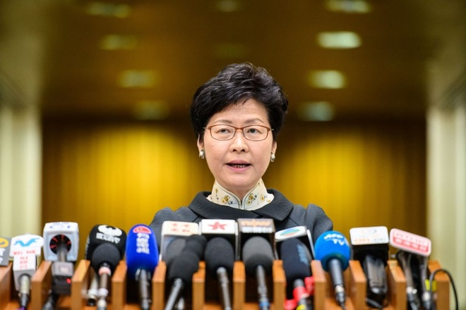 Trung Quoc thay the ba Carrie Lam anh 1