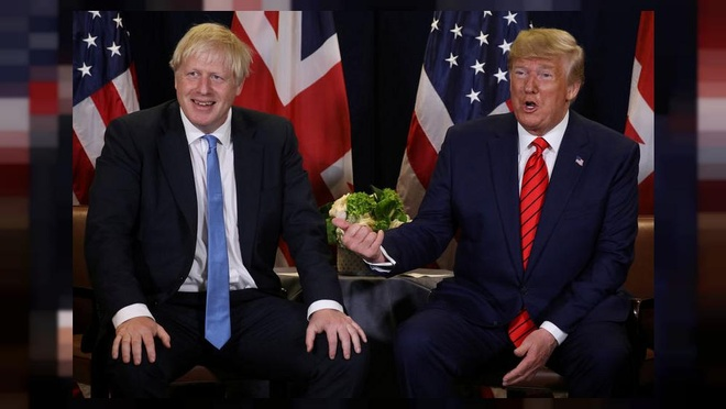 TT Trump du hop NATO - Anh yeu cau ong khong binh luan ve bau cu hinh anh 1 1000x563_trump-off-to-london-for-nato-summit-under-pressure-to-steer-clear-of-british-election_AFP.jpg