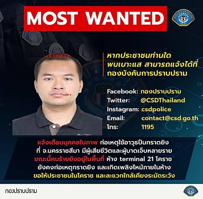 1 thu pham, 4 dia diem, 29 nguoi chet - vu xa sung rung dong Thai Lan hinh anh 2 jakrapanth_thomma_AFP_Thai_police.jpg