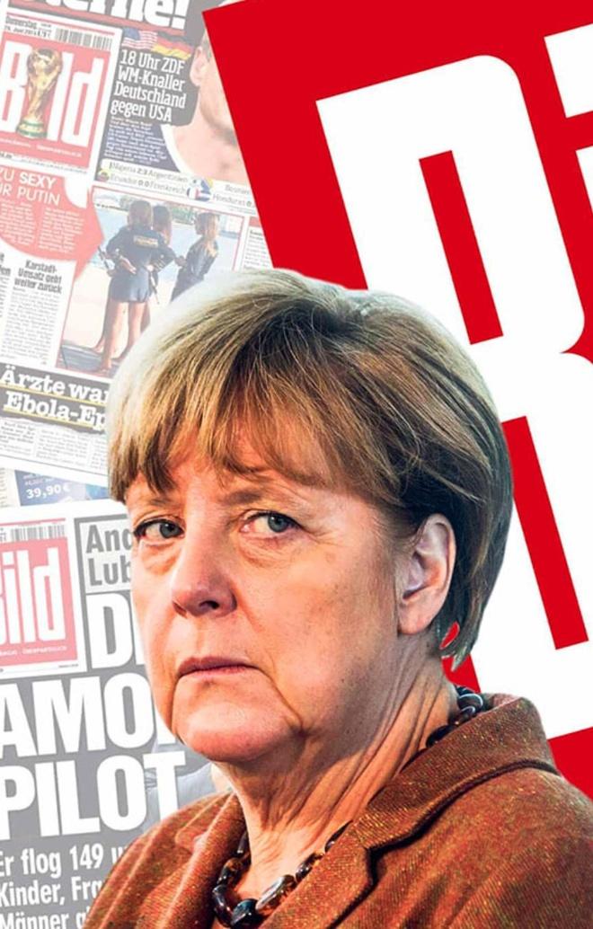 Siêu báo lá cải khuynh đảo chính trường Đức và cuộc chiến chống Merkel