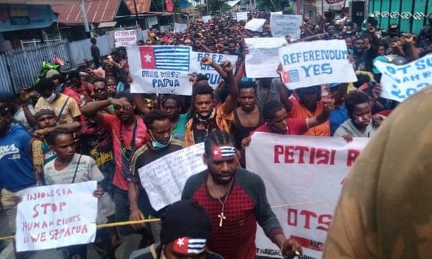 papua doi doc lap khoi Indonesia anh 1
