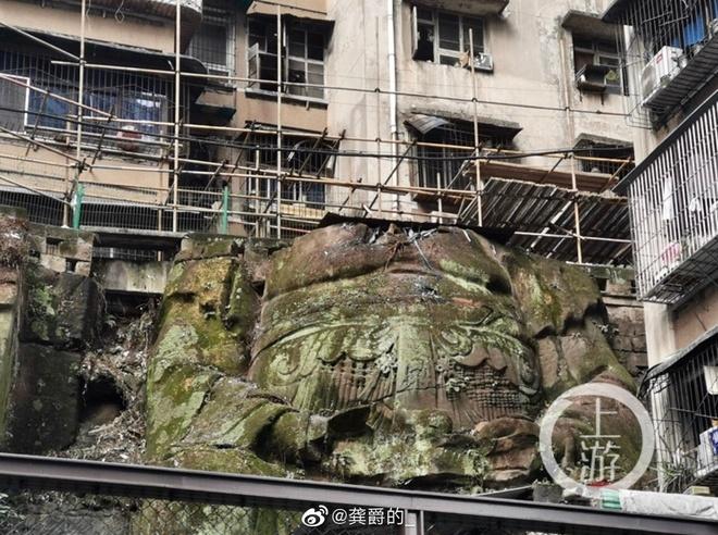 Tượng Phật không đầu khổng lồ dưới chung cư ở Trung Quốc - Báo mới 24h