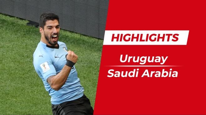 Highlights Uruguay 1-0 Saudi Arabia: Suarez ghi ban hinh anh