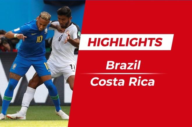 Highlights Brazil 2-0 Costa Rica: Coutinho, Neymar ghi ban phut bu gio hinh anh