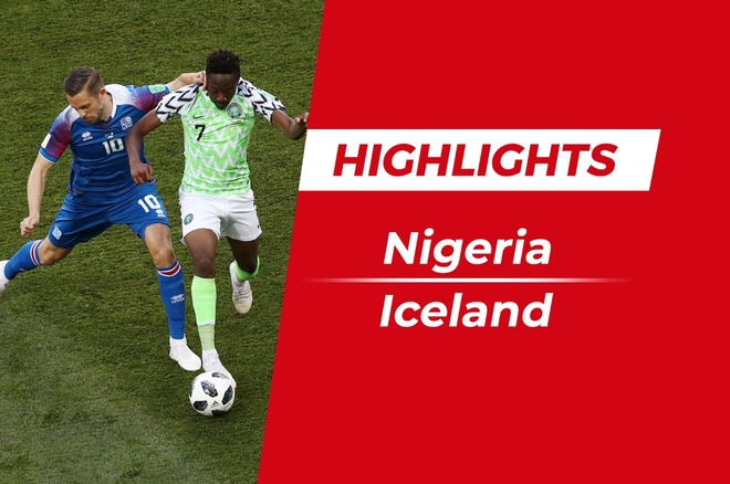 Highlights Nigeria 2-0 Iceland: Musa lap cu dup an tuong hinh anh