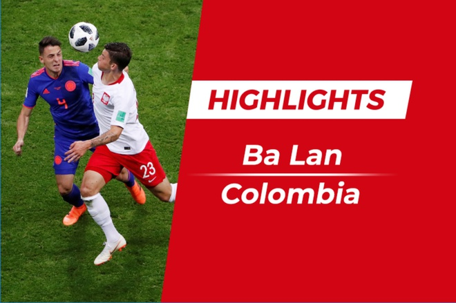 Highlights Ba Lan 0-3 Colombia: Falcao cung Cuadrado toa sang hinh anh