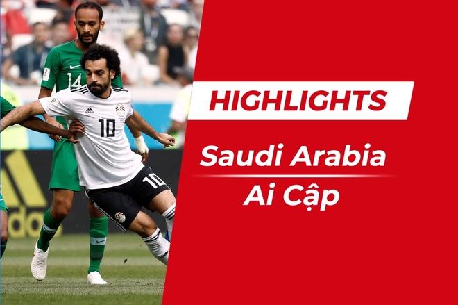 Highlights Saudi Arabia 2-1 Ai Cap: Salah ghi ban hinh anh