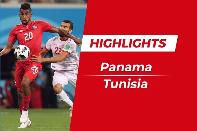 Highlights Panama 1-2 Tunisia: Chien thang vi danh du hinh anh