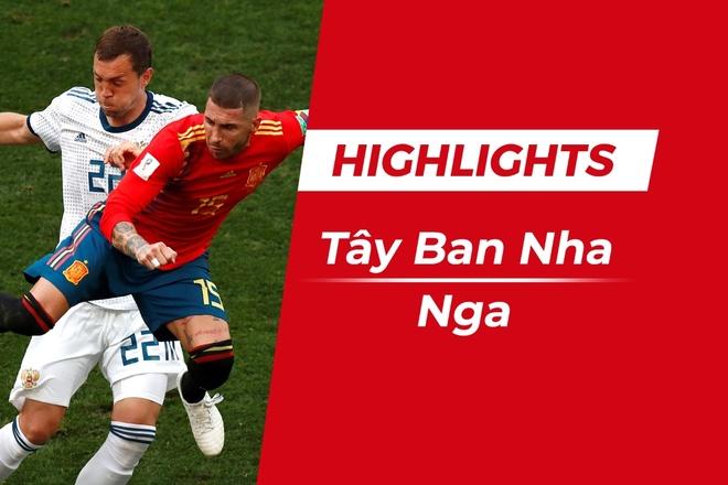Highlights Tay Ban Nha 1-1 Nga: Khach thua tren cham 11 m hinh anh