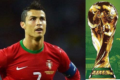 Ronaldo - Hay cu giu giac mo World Cup hinh anh