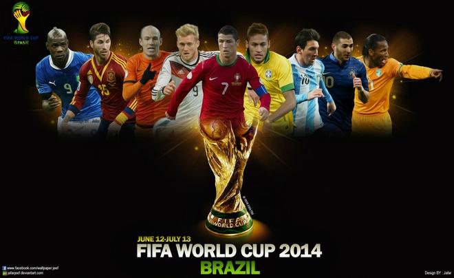 Toan canh vong dau bang World cup 2014 bang tho hinh anh
