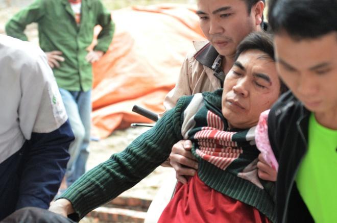 Bac Ninh: Dan phat no, mot nam thanh nien bi thuong hinh anh