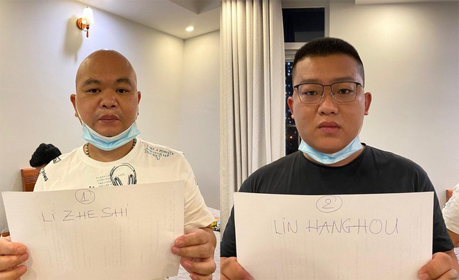 Trung Quoc nhap canh trai phep vao TP.HCM anh 1