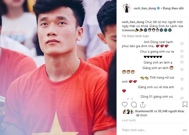 Tuyen thu Viet Nam gui loi chuc mung Giang sinh den nguoi ham mo hinh anh 1