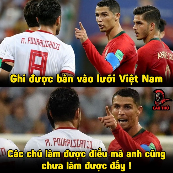 Anh che cau thu Iran gioi hon Ronaldo khi ghi ban vao luoi Viet Nam hinh anh 3