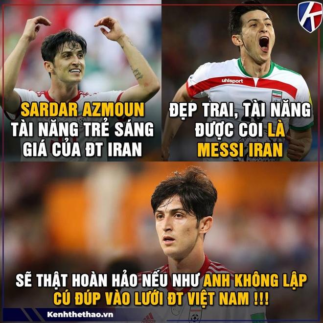 Anh che cau thu Iran gioi hon Ronaldo khi ghi ban vao luoi Viet Nam hinh anh 7