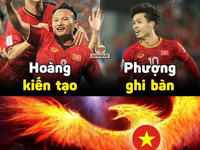 Anh che bo doi 'Phuong - Hoang' toa sang o tran thang Jordan hinh anh