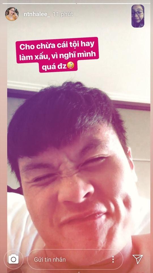 Quang Hai cung ban gai di lam toc don Tet ngay sau ngay ve nuoc hinh anh 3