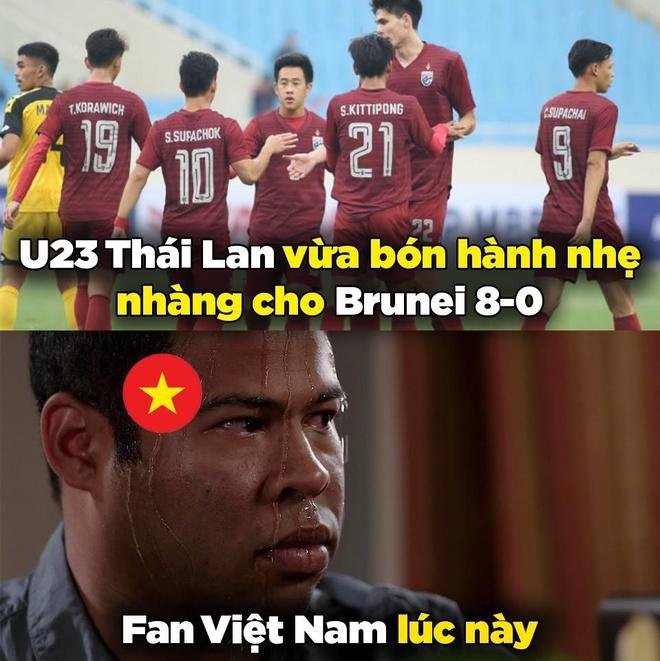 'Than phut cuoi' khien dan mang dau tim khi U23 Viet Nam gap Indonesia hinh anh 1