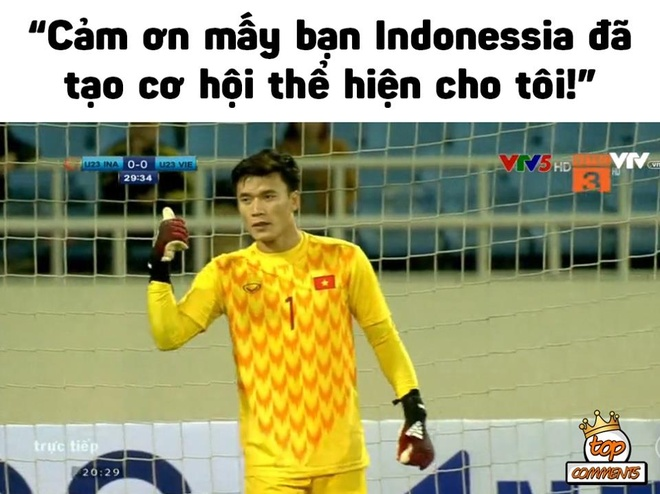 'Than phut cuoi' khien dan mang dau tim khi U23 Viet Nam gap Indonesia hinh anh 3