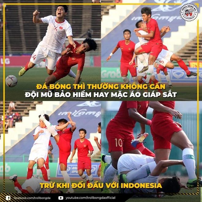 'Than phut cuoi' khien dan mang dau tim khi U23 Viet Nam gap Indonesia hinh anh 2