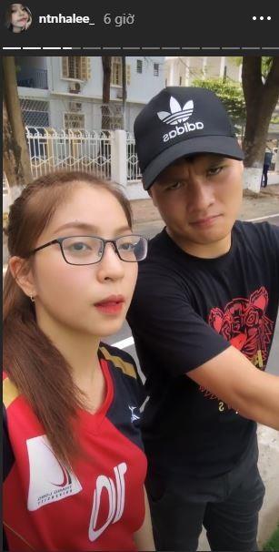 Ngot ngao nhu Quang Hai: Den tan san co vu ban gai thi dau bong chuyen hinh anh 2
