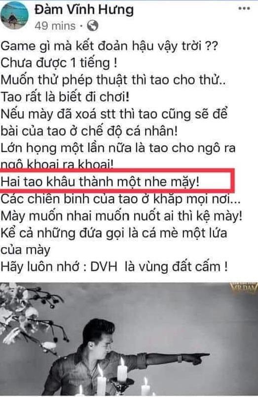 Dan mang doi tay chay ca si Dam Vinh Hung vi phat ngon 'cho bua' hinh anh 3