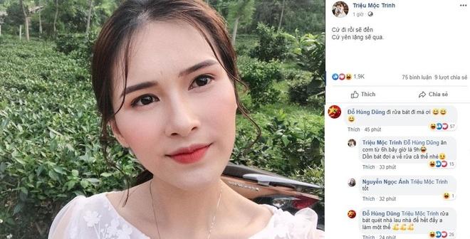 Vo moi cuoi khoe anh selfie, Do Hung Dung vao binh luan 'phu phang' hinh anh 1
