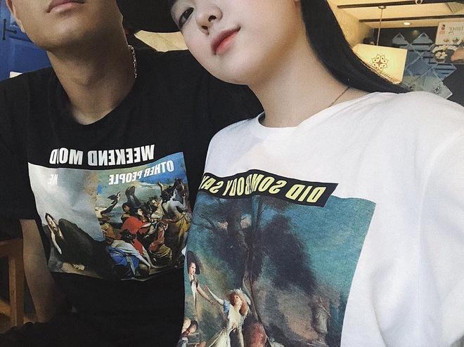 Bức ảnh được Hà Trang đăng tải trên trang cá nhân. Ảnh:Instagram NV.