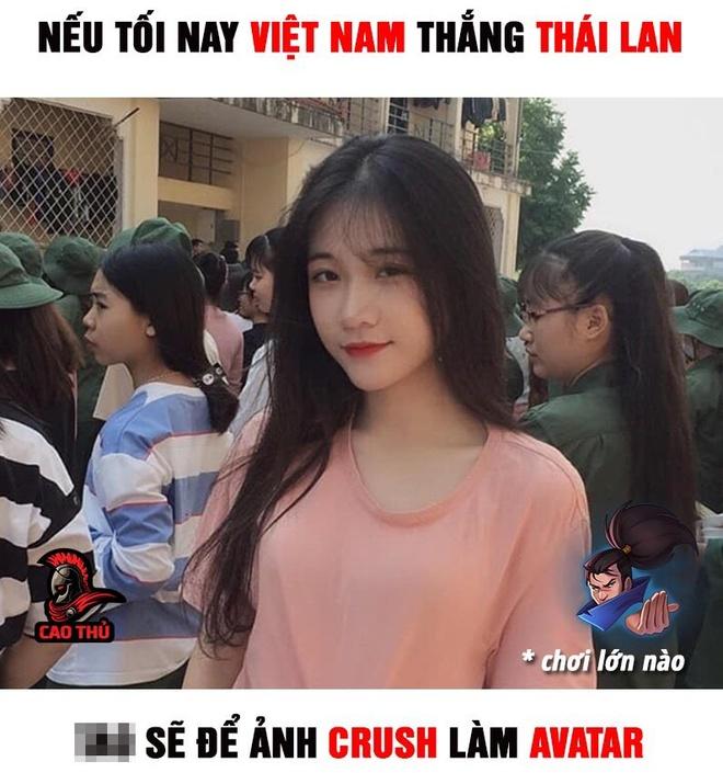 Dan mang che anh, co vu tuyen Viet Nam truoc tran gap Thai Lan hinh anh 7