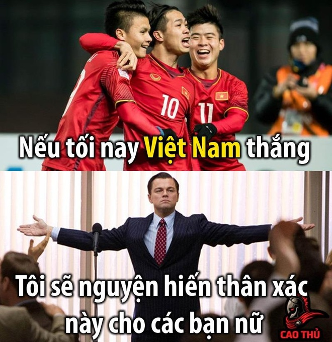 Dan mang che anh, co vu tuyen Viet Nam truoc tran gap Thai Lan hinh anh 2