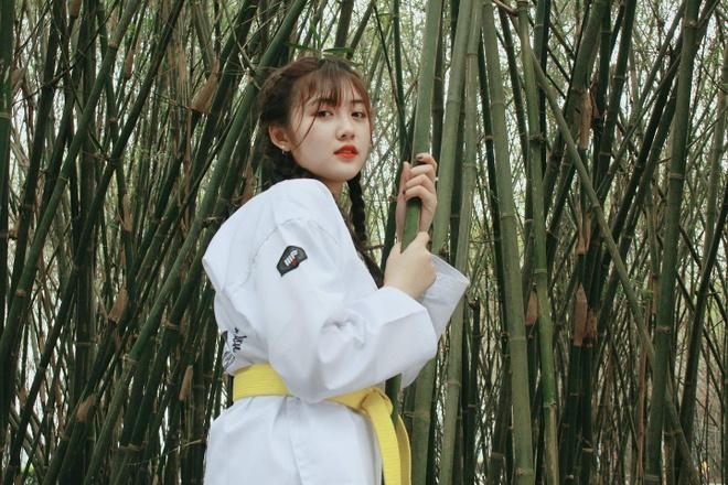 Nu sinh 9X biet taekwondo, thuong bi gan mac 'chanh' du 'lay loi' hinh anh 8