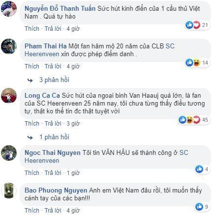 CLB Ha Lan cua Van Hau duoc dan mang khen 'biet chieu fan Viet' hinh anh 2
