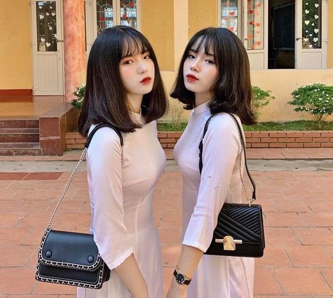 Chi em sinh doi Yen Bai anh 1