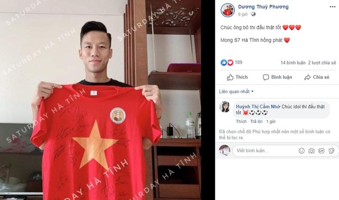 Em gai Van Toan toi san truoc 3 tieng, du doan Viet Nam thang 3-0 hinh anh 2