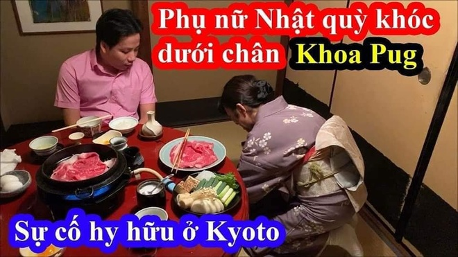 Khoa Pug da sua video ve nu phuc vu Nhat nhung khong xin loi hinh anh 1