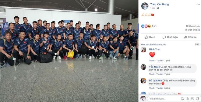 Tien Linh, Van Hau, Tien Dung thoai mai check-in khi toi Philippines hinh anh 9